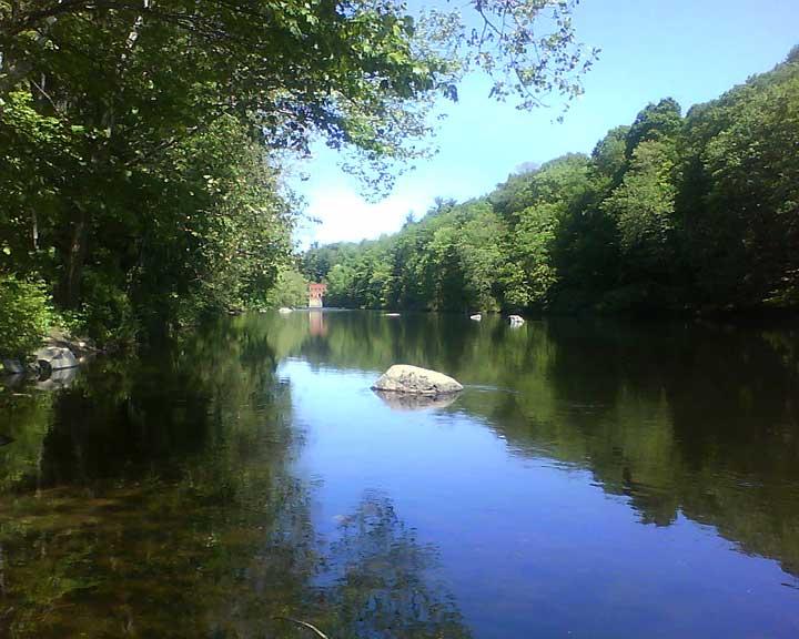 Farmington River, Burlington, CT